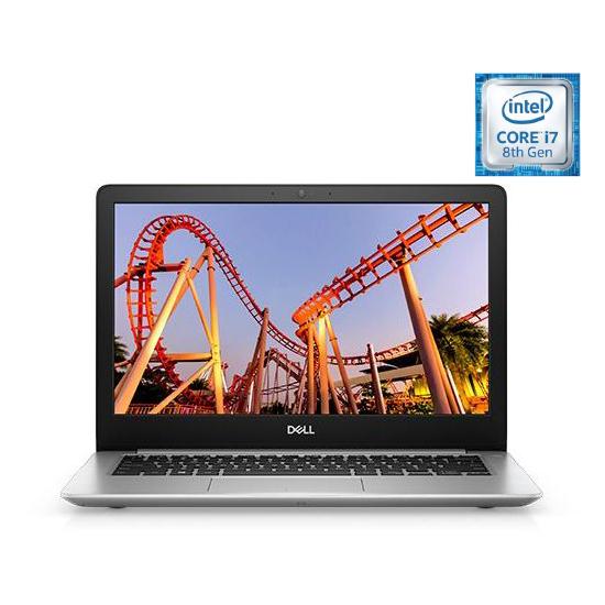 Dell Inspiron 13 5370 Laptop - Core i7 1.8GHz 8GB 256GB 2GB Win10 13.3inch FHD Silver