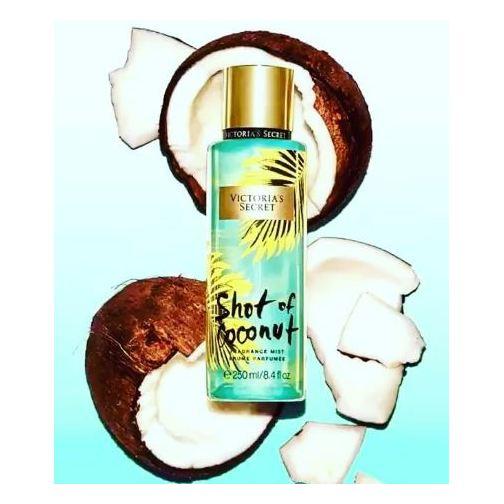 Victoria's Secret Shot Of Coconut 250ml Fragrance Mist
