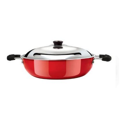 Anjali Fab Kadai 245mm (2Ltr) Induction Base FKD20