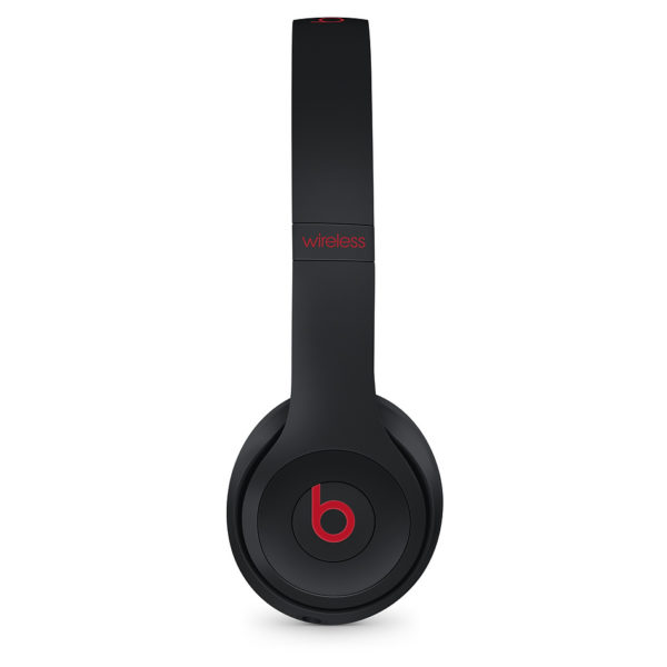 Beats Solo3 Wireless On-Ear Headphones - The Beats Decade Collection - Defiant Black-Red
