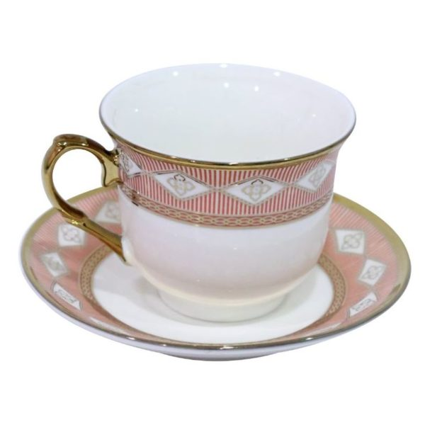 HomeStyle 12 Pieces Cup & Saucer Set 100 cc