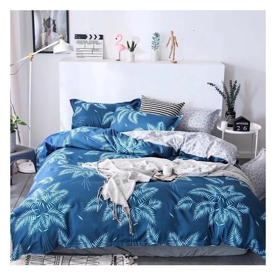 Deals For Less Big Leaves King 6 pcs Comforter Set