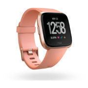 Fitbit Versa Fitness Watch - Peach/Rose Gold