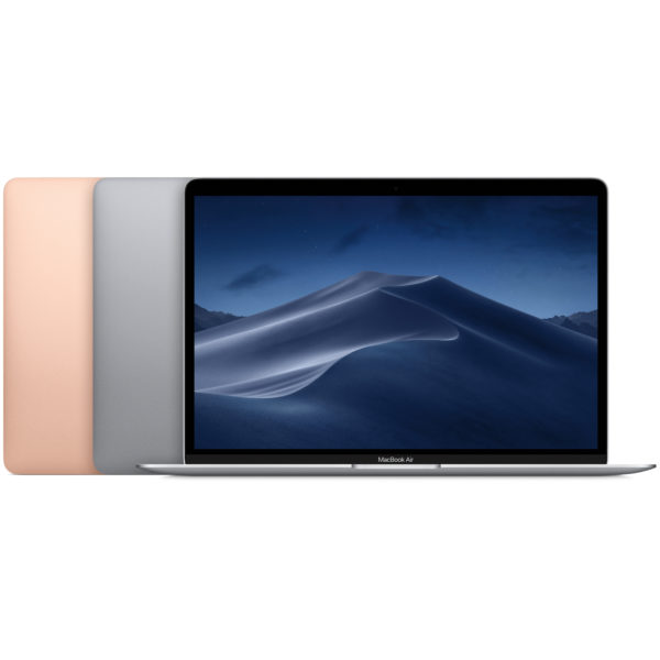 Apple MacBook Air (2018) - Core i5 1.6GHz 8GB 128GB Shared 13.3inch Gold Arabic