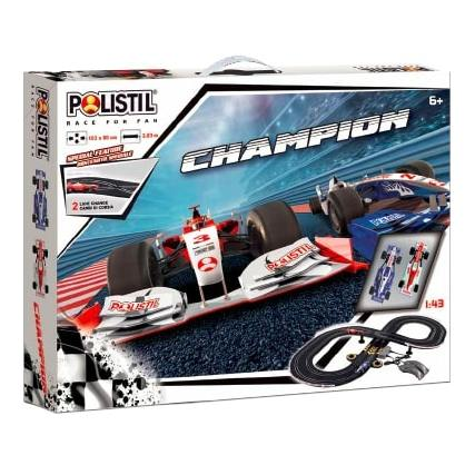 Polistil 96017 WP AT Formula Racing Champion Set Slot Car 1:43