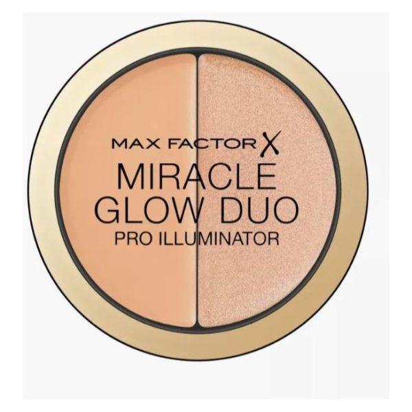 Max Factor Miracle Glow Duo Pro Illuminator 20 Medium 11g