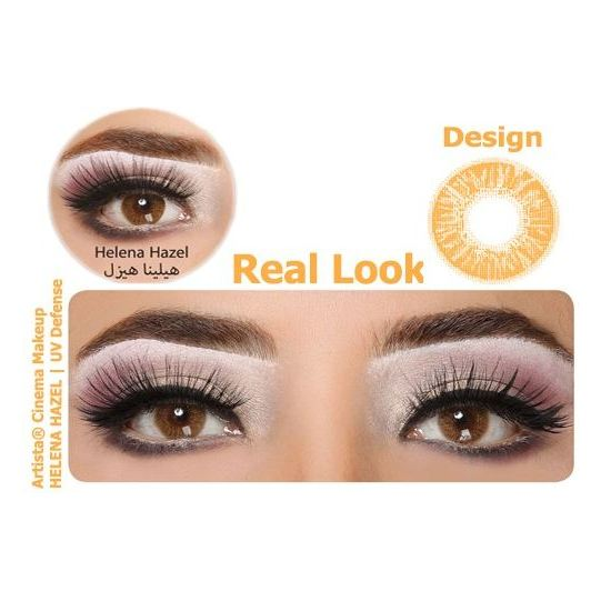Artista Eye Lens With UV Def Helena Hazel