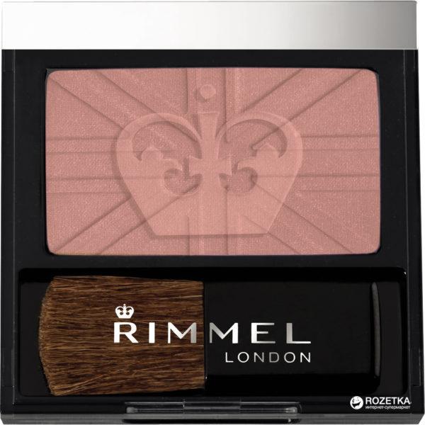 Rimmel London 23120 Lasting Finish Soft Colour Blush with Brush Shade 120 Pink Rose