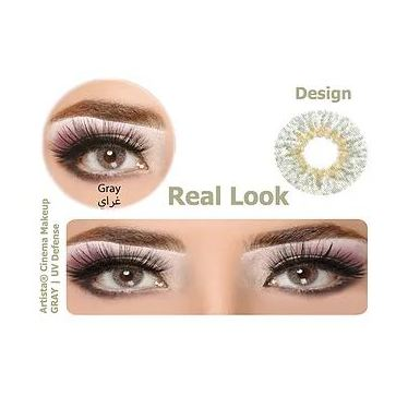 Artista Contact Lenses with UV Def Grey