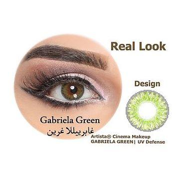 Artista Contact Lenses Gabriela Green