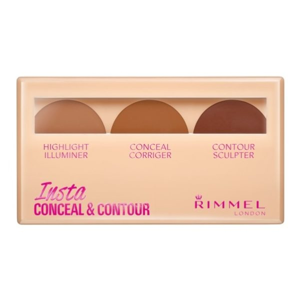 Rimmel London Insta Conceal & Contour Palette Shade 030 Dark