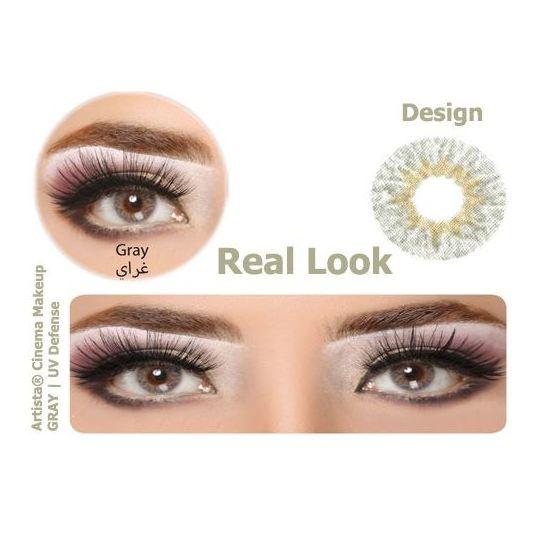 Artista 9041 Eye Lens with UV Def. Gray