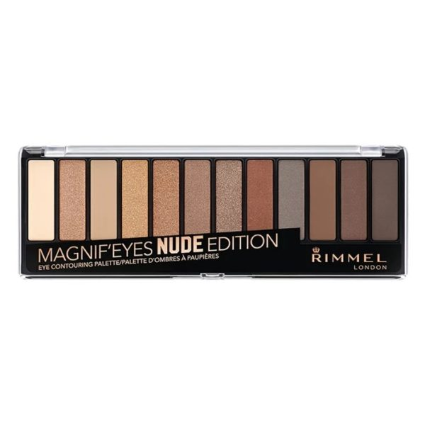 Rimmel London Magnif'Eyes Eye Contouring Palette Nude Edition