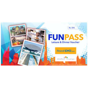 Free Sharaf DG Voucher (Fun Pass) HA PROMO