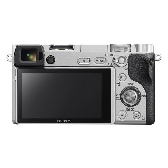Sony ILCE6300LS A6300 Mirrorless 4K Camera Silver + 16-50mm Lens