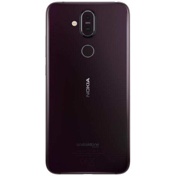 Nokia 8.1 64GB Iron Steel Dual Sim Smartphone TA1119