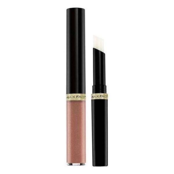 Max Factor Lipfinity Lip Colour Lipstick 2-step Long Lasting 160 Iced 2.3ml + 1.9g