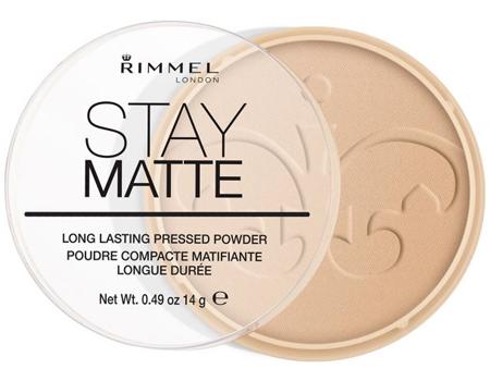 Rimmel London 18004 Stay Matte Pressed Powder Shade 004 Sandstorm