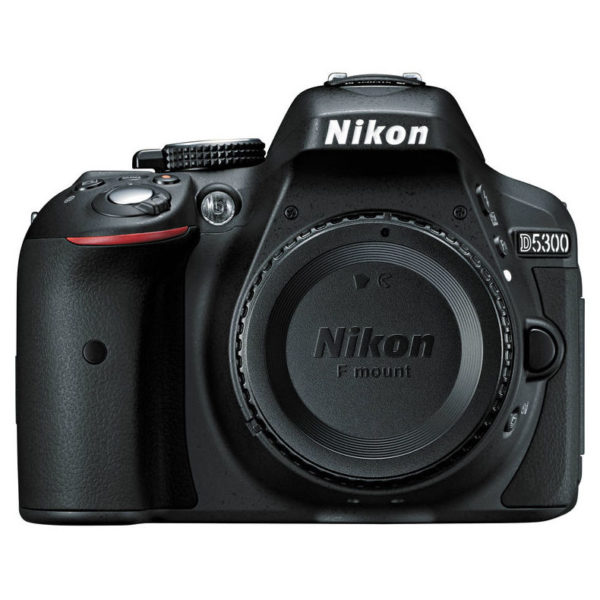 Nikon D5300 DSLR Camera Black + AF-P 18-55mm VR Lens + AF-P 70-300mm Lens + 16GB SD Card + Tripod + 5x NikonSchool