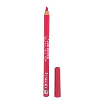 Rimmel London 12004 Lasting Finish 1000 Kisses Pencil Indian Pink A Deep True Pink Shade