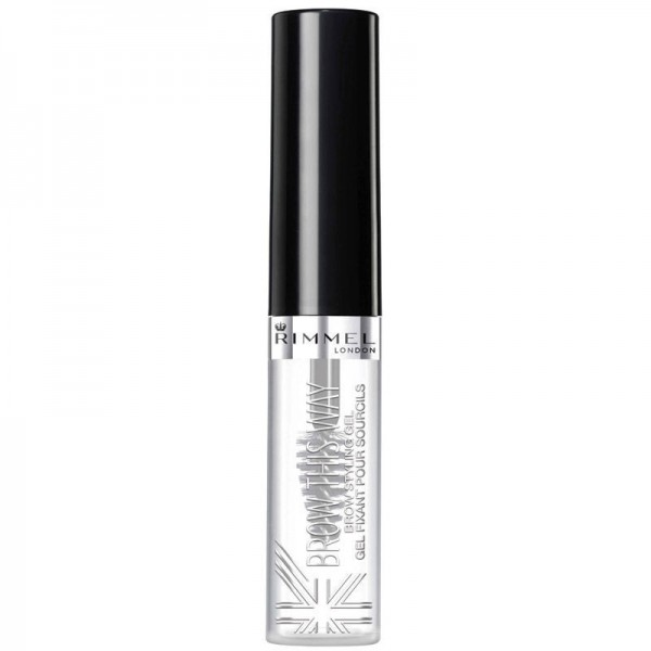Rimmel London 8004 Brow This Way Eyebrow gel with Argan Oil Clear