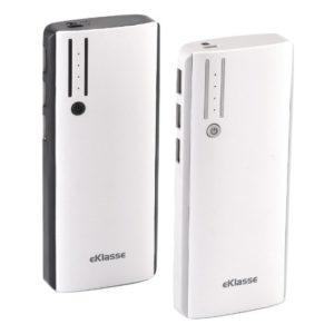 6ce7ebbe0 Eklasse Power Bank 10000mAh White Black + Power Bank 10000mAh White Grey