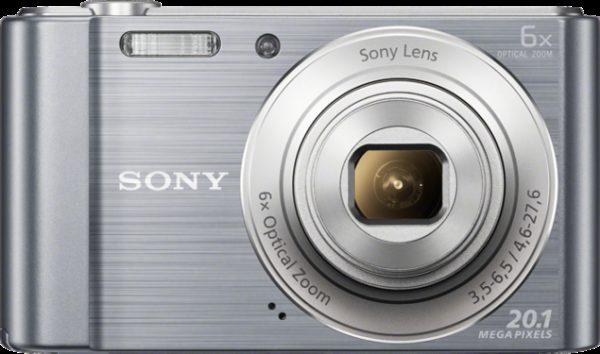 Sony Cybershot DSCW810 Digital Camera Silver