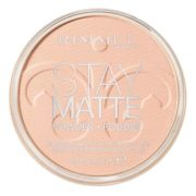 Rimmel London 18002 Stay Matte Pressed Powder Shade 002 Pink Blossom