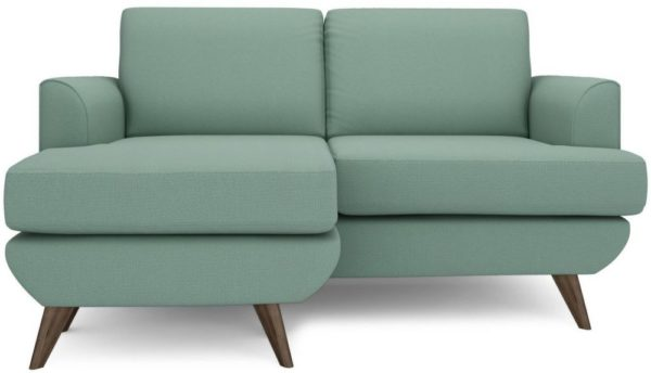 galaxy design lull series mini l shape sofa dull green