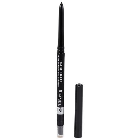 Rimmel London 61261 Exaggerate Waterproof Eye Definer 261 Noir A Black Shade