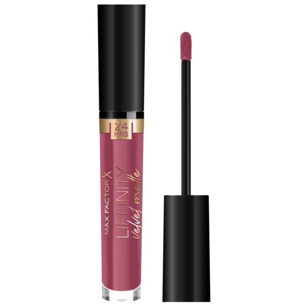 Max Factor Lipfinity Velvet Matte Liquid Lipstick 005 Matte Merlot 4ml