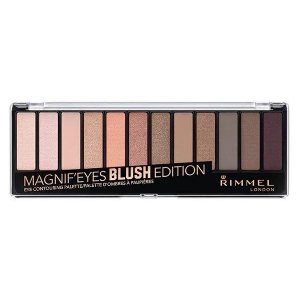 Rimmel London Magnif'Eyes Eye Contouring Palette Blush Edition
