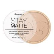 Rimmel London 18005 Stay Matte Pressed Powder Shade 005 Silky Beige