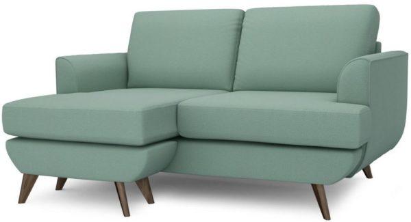 Galaxy Design Lull Series Mini L Shape Sofa Dull Green