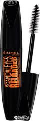 Rimmel London 81003 Rimmel London Scandaleyes Reloaded Mascara Extreme Black