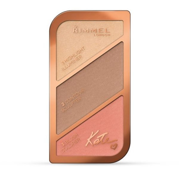 Rimmel London 96002 Kate Sculpting Palette Shade 002 Coral glow