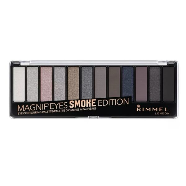 Rimmel London Magnif'Eyes Eye Contouring Palette Smoke Edition