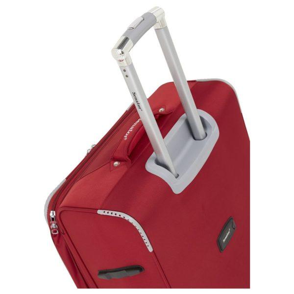 ea782564b Buy Senator Soft Spinner Trolley Luggage Bag Red 3Pc Set LL003-3_RED ...