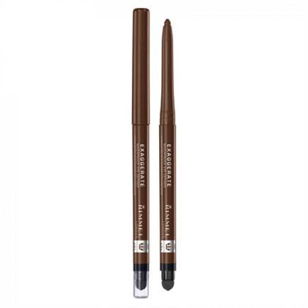 Rimmel London 61212 Exaggerate Waterproof Eye Definer 212 Rich Brown A Medium Brown Shade