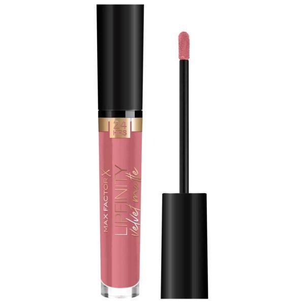 Max Factor Lipfinity Velvet Matte Liquid Lipstick 020 Coco Crème 4ml