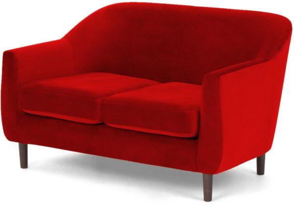Galaxy Design Tubby Two Seat Sofa Wood