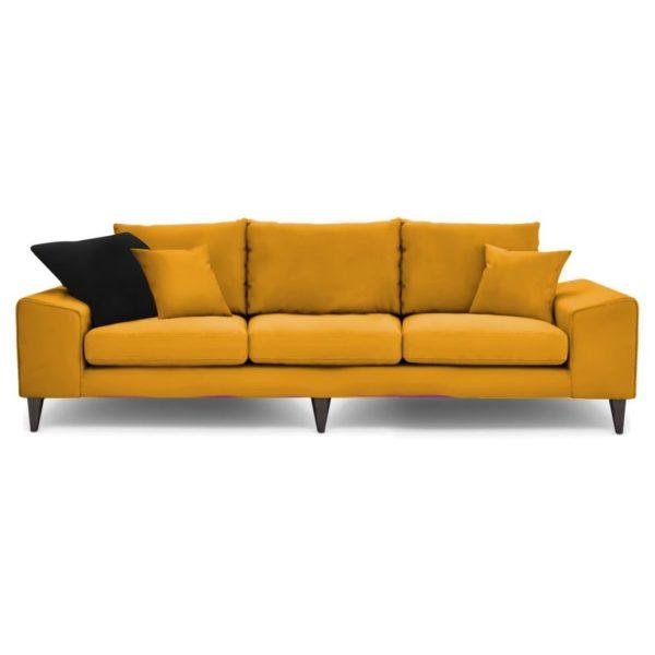 Galaxy Design Quartz 3 Seater Sofa