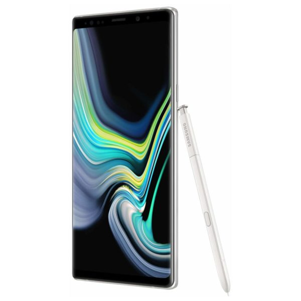 Samsung Galaxy Note9 128GB Alpine White 4G LTE Dual Sim Smartphone SMN960F