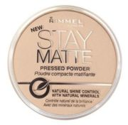 Rimmel London 18001 Stay Matte Pressed Powder Shade 001 Transparent