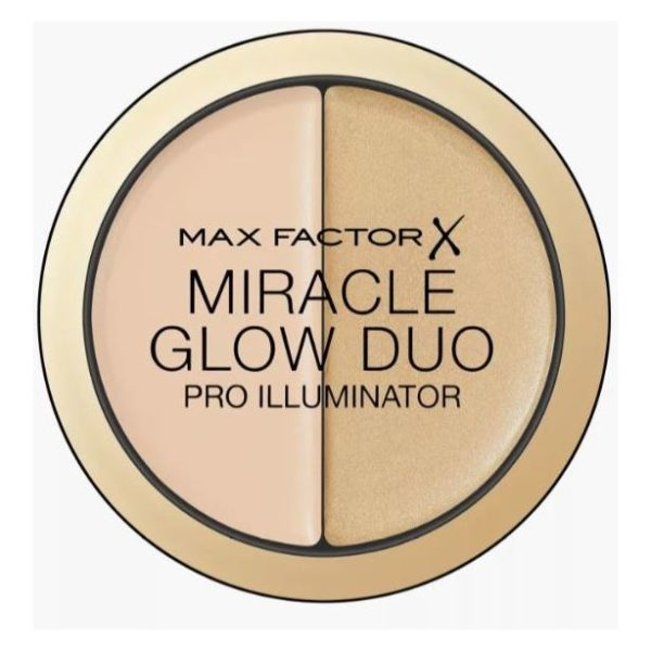 Max Factor Miracle Glow Duo Pro Illuminator 10 Light 11g