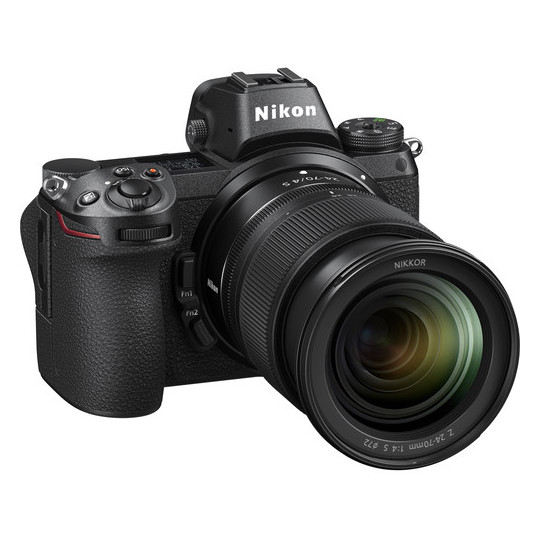 Nikon Z6 Digital Mirrorless Camera Black + 24-70MM F/4 Lens + FTZ Adapter