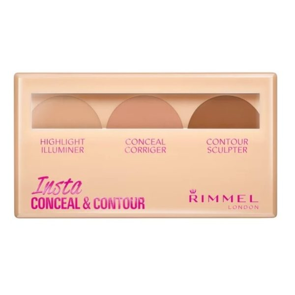 Rimmel London Insta Conceal & Contour Palette Shade 020 Medium