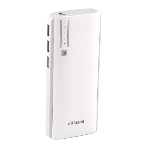 Eklasse Power Bank 10000mAh White/Black + Power Bank 10000mAh White/Grey