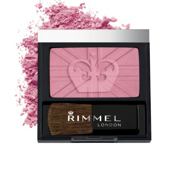 Rimmel London 23150 Lasting Finish Soft Colour Blush with Brush Shade 150 Live Pink