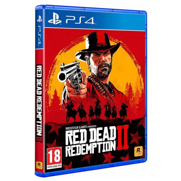 Sony PS4 Pro 1TB Red Dead Redemption 2 Console Black